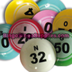 giant bingo balls 38mm